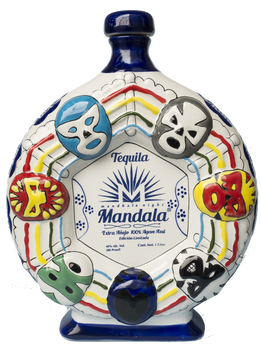 Tequila Mandala Lucha Libre Limited Edition Extra Añejo