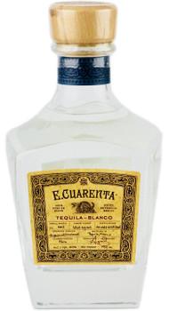 E.Cuarenta Tequila Blanco