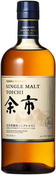 Nikka Yoichi Single Malt Japanese Whisky 750ml