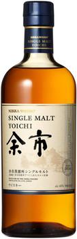 Nikka Yoichi Single Malt Japanese Whisky 750ml