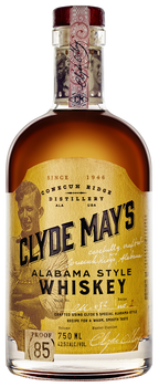 Clyde May's 85 Proof Alabama Style Whiskey