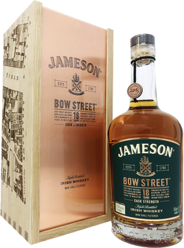 Jameson Bow Street 18 Years Irish Whiskey