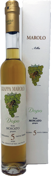 Marolo Moscato Dopo 5 Year Old Grappa 375ml