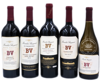 Beaulieu Vineyard 5x750ml Wine Set