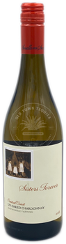 Sisters Forever Un-Oaked Chardonnay 2018