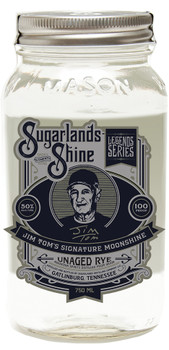 Sugarlands Shine Jim Tom's Unaged Rye