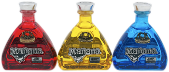 Manana Tequila Set of Three Mini's 50ml