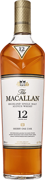 The Macallan 12 Year Sherry Oak Scotch Whisky