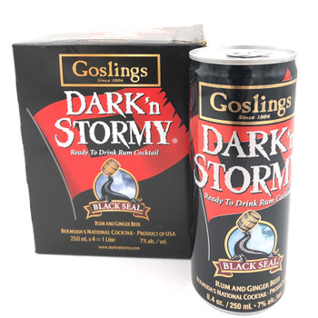Gosling's Dark'n Stormy Cocktail 4 packs Can