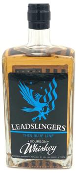 Leadslingers Thin Blue Line Bourbon Whiskey