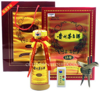 Kweichow Moutai 15 Year Baijiu Set