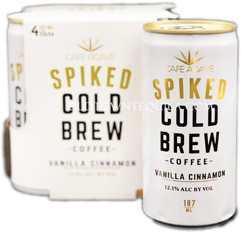 Spiked Cold Brew Vanilla Cinnamon Coffee 4 Pack