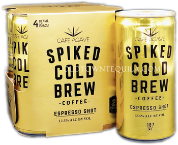Spiked Cold Brew Espresso Shot Coffee 4 Pack