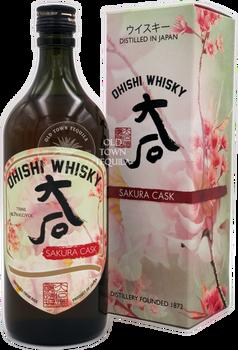 Ohishi Sakura Cask Whisky