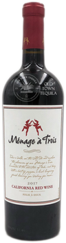 Menage a Trois 2017 California Red Wine Folie A Deux