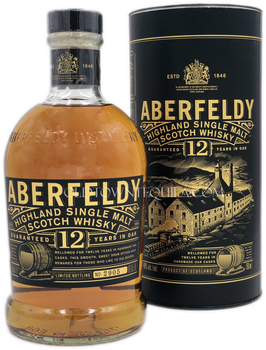 Aberfeldy 12 Years Highland Single Malt Scotch Whisky