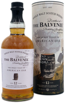 The Balvenie The Sweet Toast of American Oak 12 Years Single Malt Scotch Whisky 750ml
