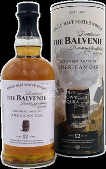 The Balvenie The Sweet Toast of American Oak 12 Years Single Malt Scotch Whisky 750ml