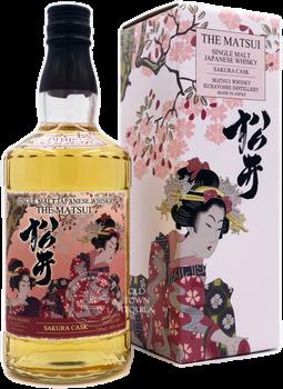 The Matsui Single Malt Sakura Cask Japanese Whisky 750ml