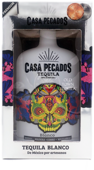 Casa Pecados Blanco Tequila 750ml in box