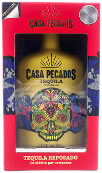 Casa Pecados Reposado Tequila 750ml in box