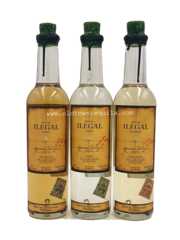 Ilegal Mezcal Set of 3 Bottles 375ml