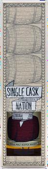 Single Cask Nation Glenburgie 20 Years Old Single Malt Scotch Whisky 750ml