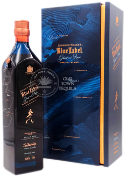 Johnnie Walker Blue Label Ghost and Rare Brora and 8 Legendary Whiskies Special Blend Scotch Whisky 750ml