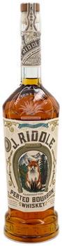 Two James J. Riddle Peated Bourbon 750ml