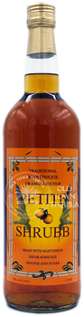 Petite Shrubb Martinique Orange Liqueur 1 Liter