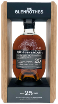 The Glenrothes 25 Year Old Speyside Single Malt Scotch Whisky 750ml