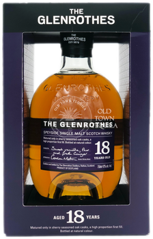 The Glenrothes 18 Year Old Speyside Single Malt Scotch Whisky 750ml
