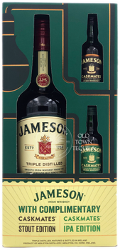 Jameson Irish Whiskey Caskmates Gift Set