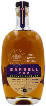 Barrel Rum Blend# B601 Private Release 750ml