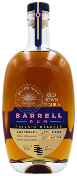 Barrell Rum Blend# J557 Private Release 750ml