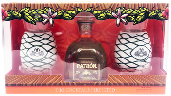 Patron Reposado Tequila Tiki Get Set