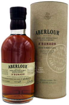 Aberlour A'bunadh Highland Single Malt Scotch Whisky 750ml