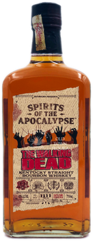 Spirits of the Apocalypse The Walking Dead Kentucky Straight Bourbon Whiskey 750ml