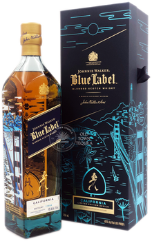 Johnnie Walker Blue label California Edition
