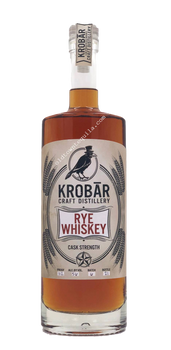 Krobar Cask Strength Rye Whiskey 112 Proof