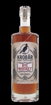 Krobar Cask Strength Rye Whiskey 112 Proof