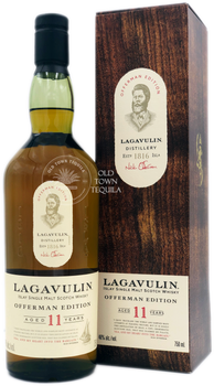 Lagavulin Offerman Edition 11 Years Islay Single Malt Scotch Whisky