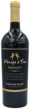 Menage a Trois Midnight Dark Red Blend California 2018