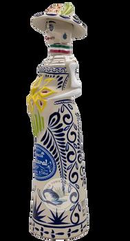 Riqueza Cultural Catrina Ceramica Anejo Tequila