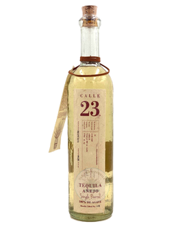 Calle 23 Single Barrel cask 49.85 ALC Anejo Tequil