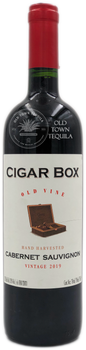 Cigar Box Old Vine Hand Harvested Cabernet Sauvignon Vintage 2019