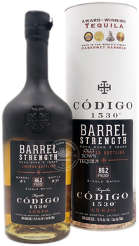 Codigo 1530 Barrel Strength Limited Bottling Anejo Tequila
