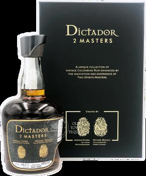 Dictador 2 Masters Rum Hardy Cognac Edition