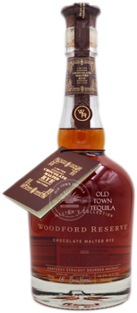 Woodford Reserve Chocolate Malted Rye Whiskey 750ml