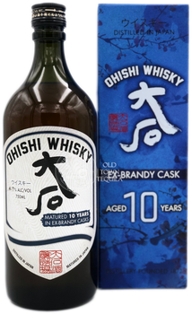 Ohishi 10 Years Ex Brandy Casks Japanese Whisky